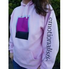Limited Run: Purple Flood, pink hoodie